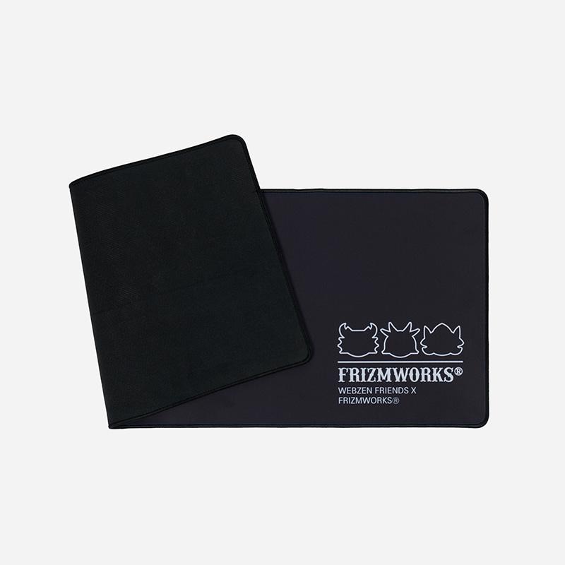 [WEBZEN FRIENDS X FRIZMWORKS] Gaming wide pad _ black