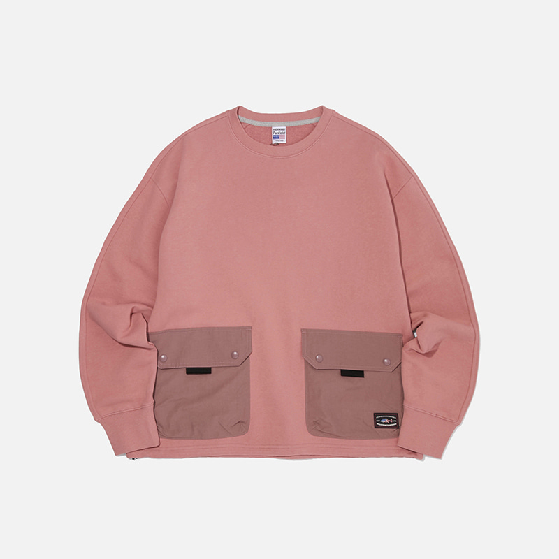 [PENFIELD X FRIZMWORKS] NYCO Pocket sweatshirt _ pink