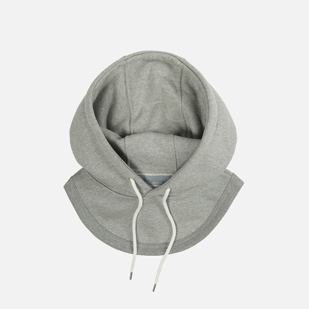 Separated hood _melange gray