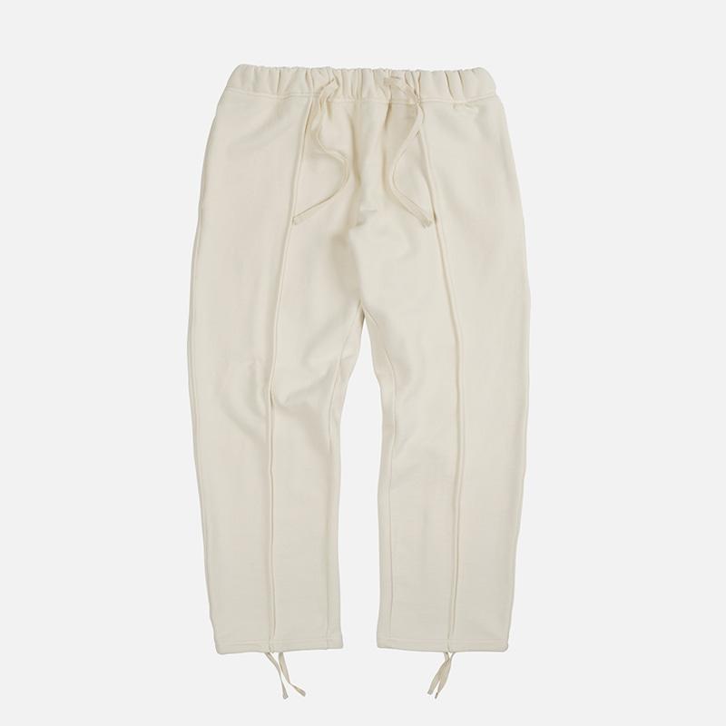 Piping sweat pants _ ivory