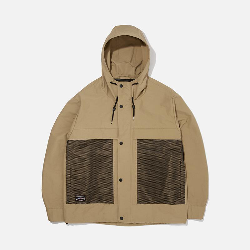 [PENFIELD X FRIZMWORKS] Mesh utility hood jacket _ beige