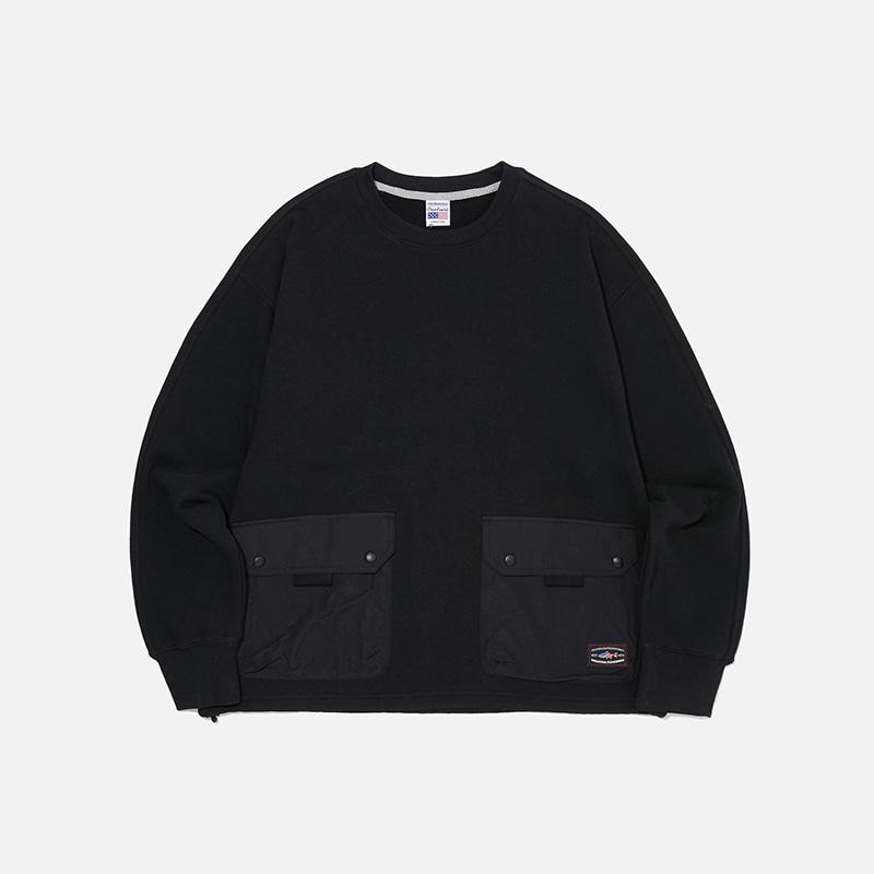 [PENFIELD X FRIZMWORKS] NYCO Pocket sweatshirt _ black