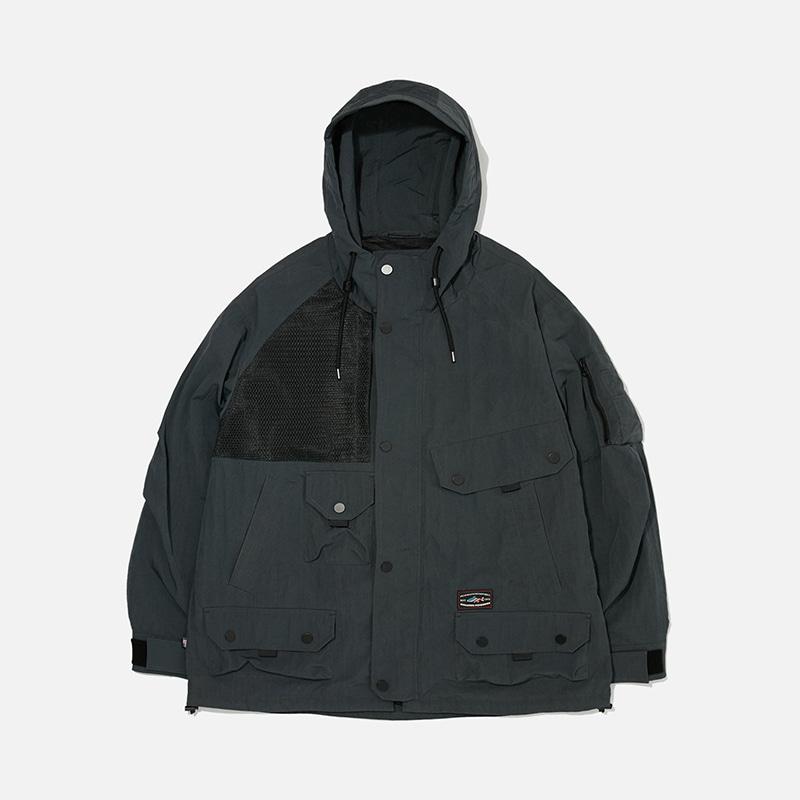 [PENFIELD X FRIZMWORKS] Utility cargo pocket setup jacket _ khaki