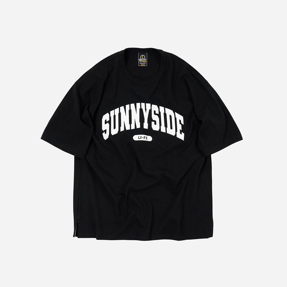 Sunnyside logo tee _ black