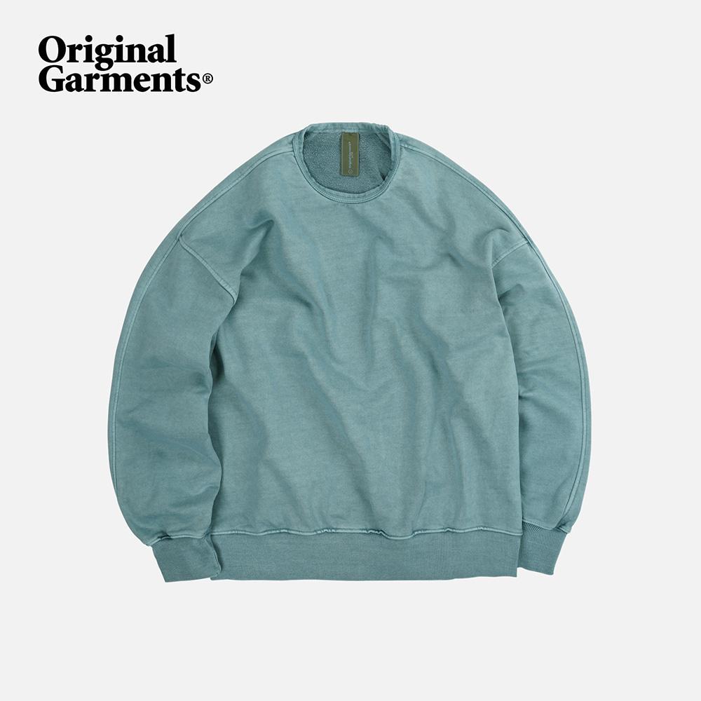 OG Pigment dyeing sweatshirt 002 _ mint