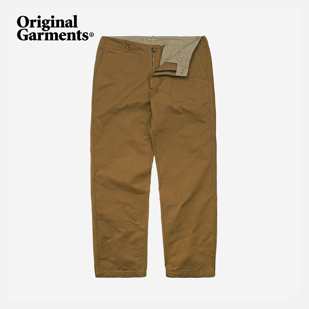 OG Regular chino pants _ camel