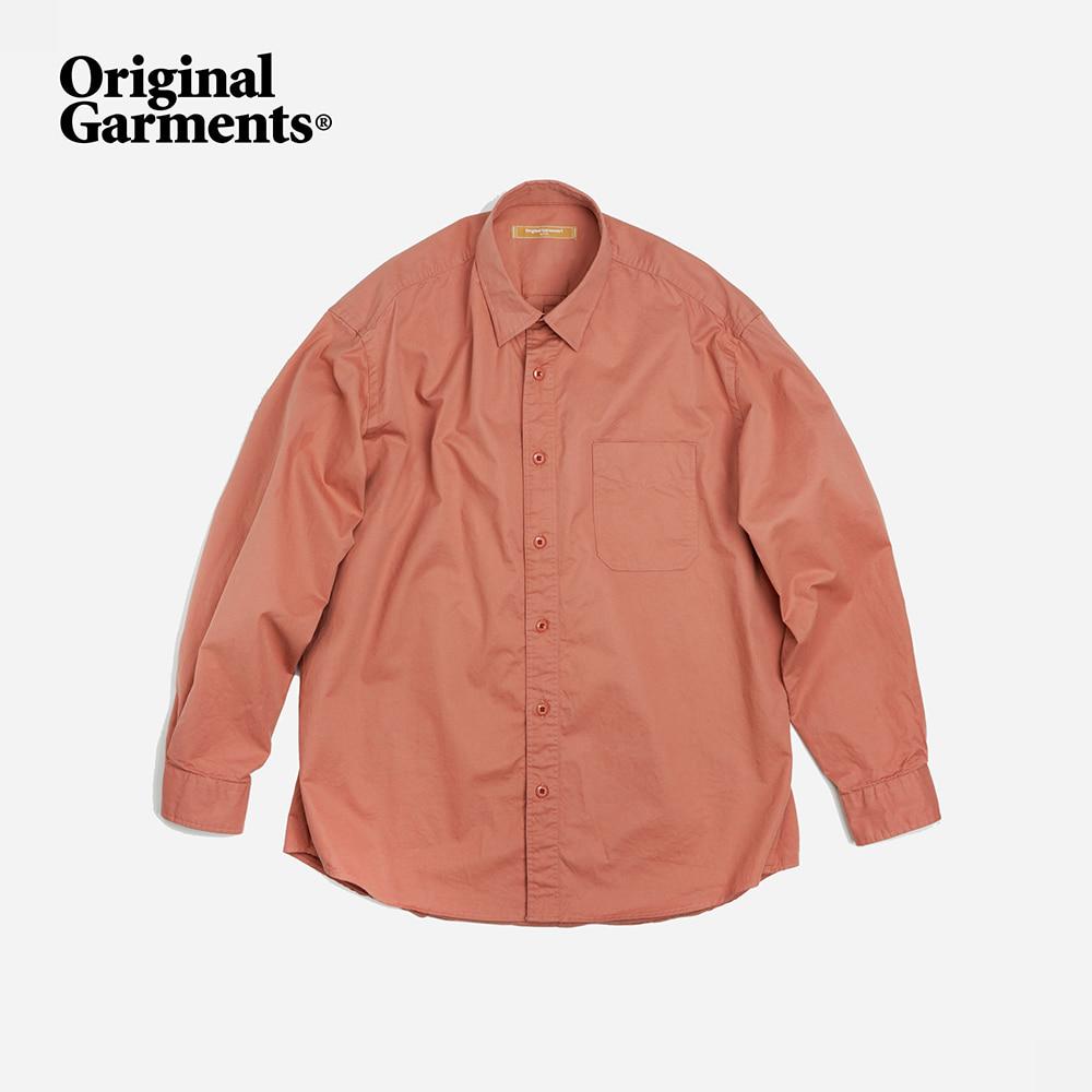 OG Hyperdensity cotton shirt _ indian pink