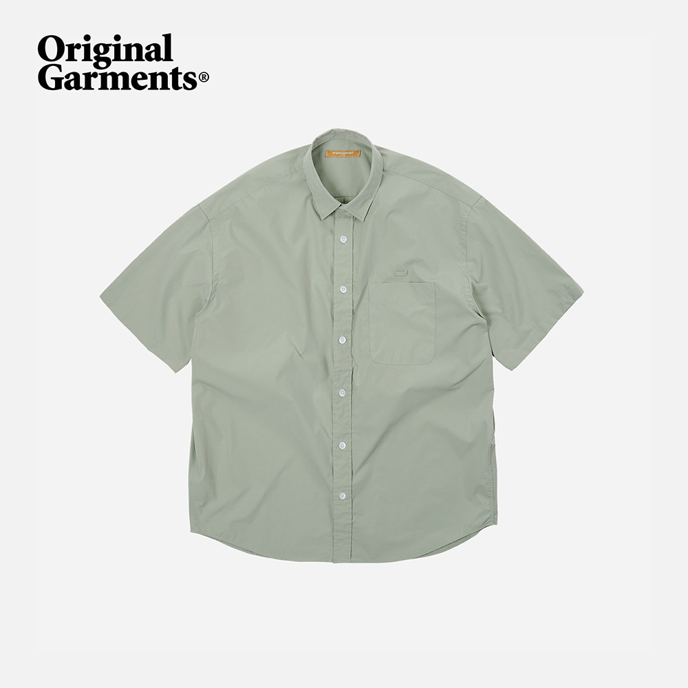 OG Poplin oversized shirt _ light green