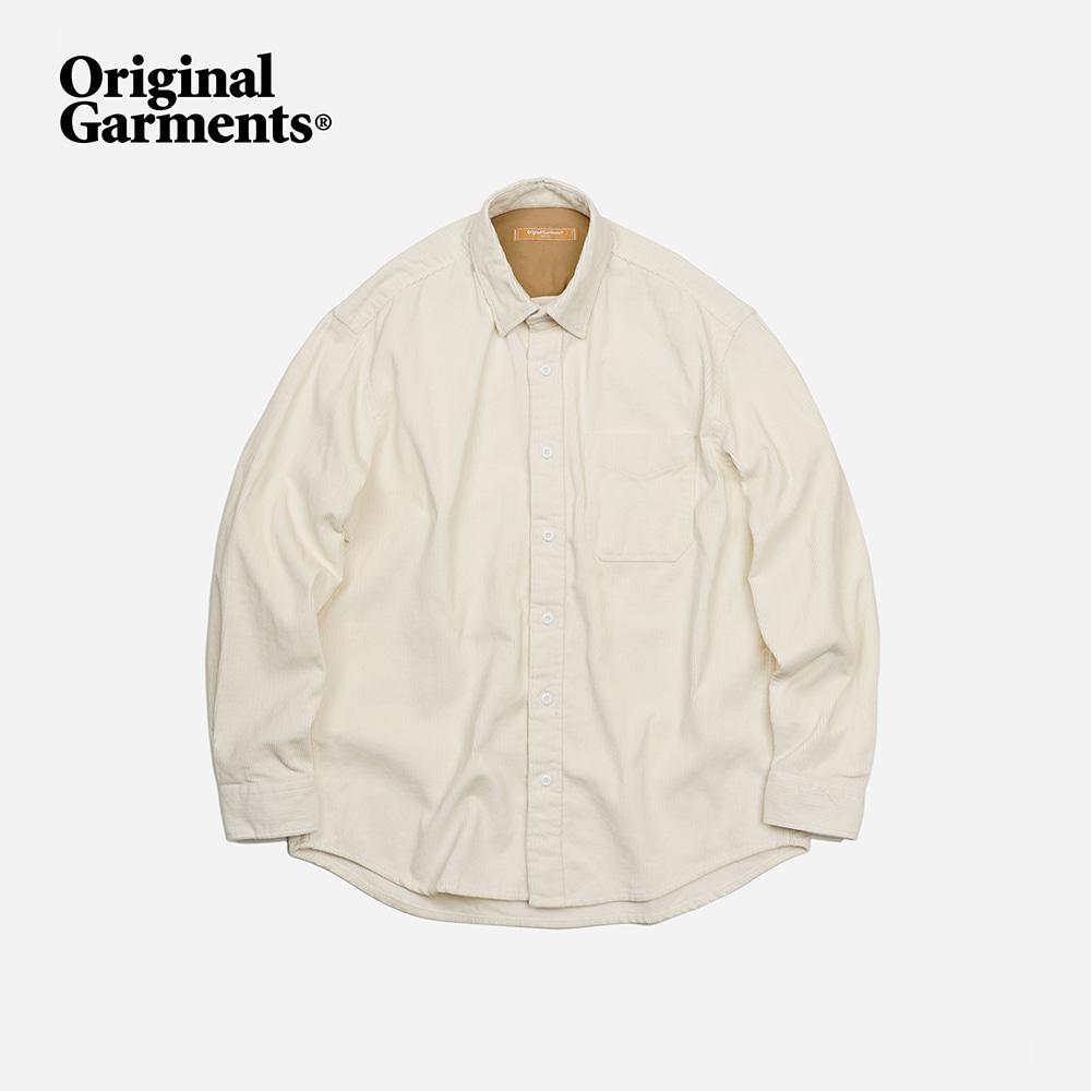 OG Corduroy shirt _ ivory
