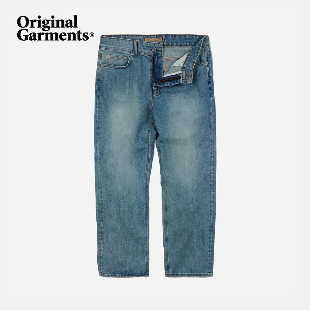 OG Wide denim pants _ light blue