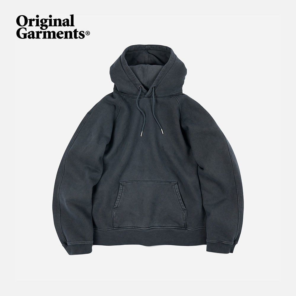OG Pigment dyeing hoody _ charcoal