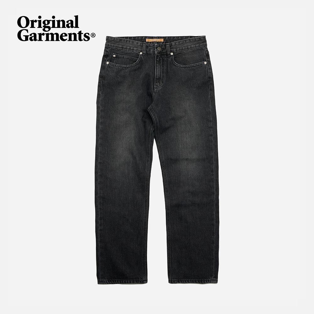OG Regular denim pants _ washed black