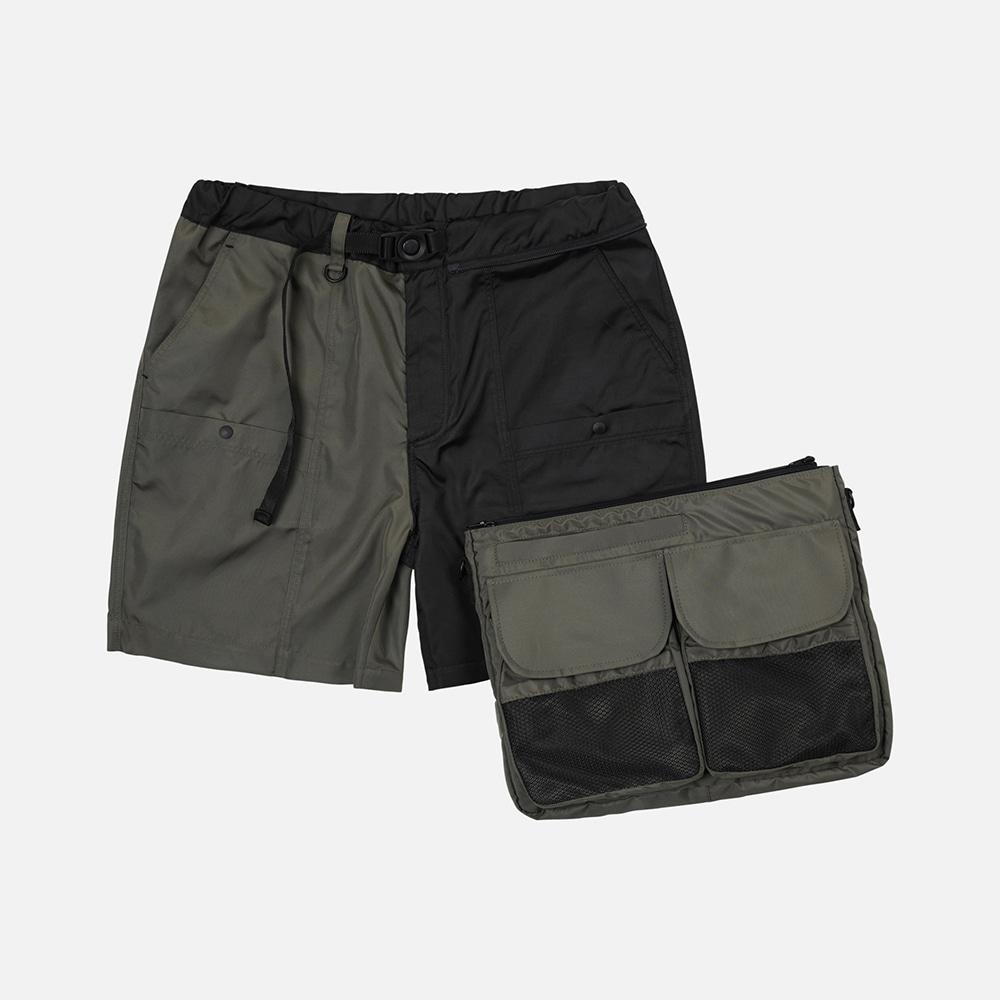 Detachable bag shorts _ mix