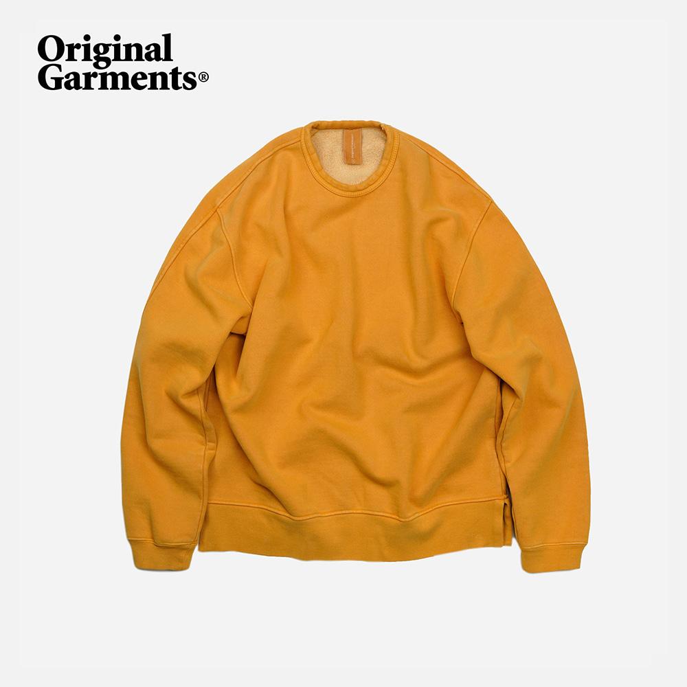 OG Pigment dyeing sweatshirt _ mustard