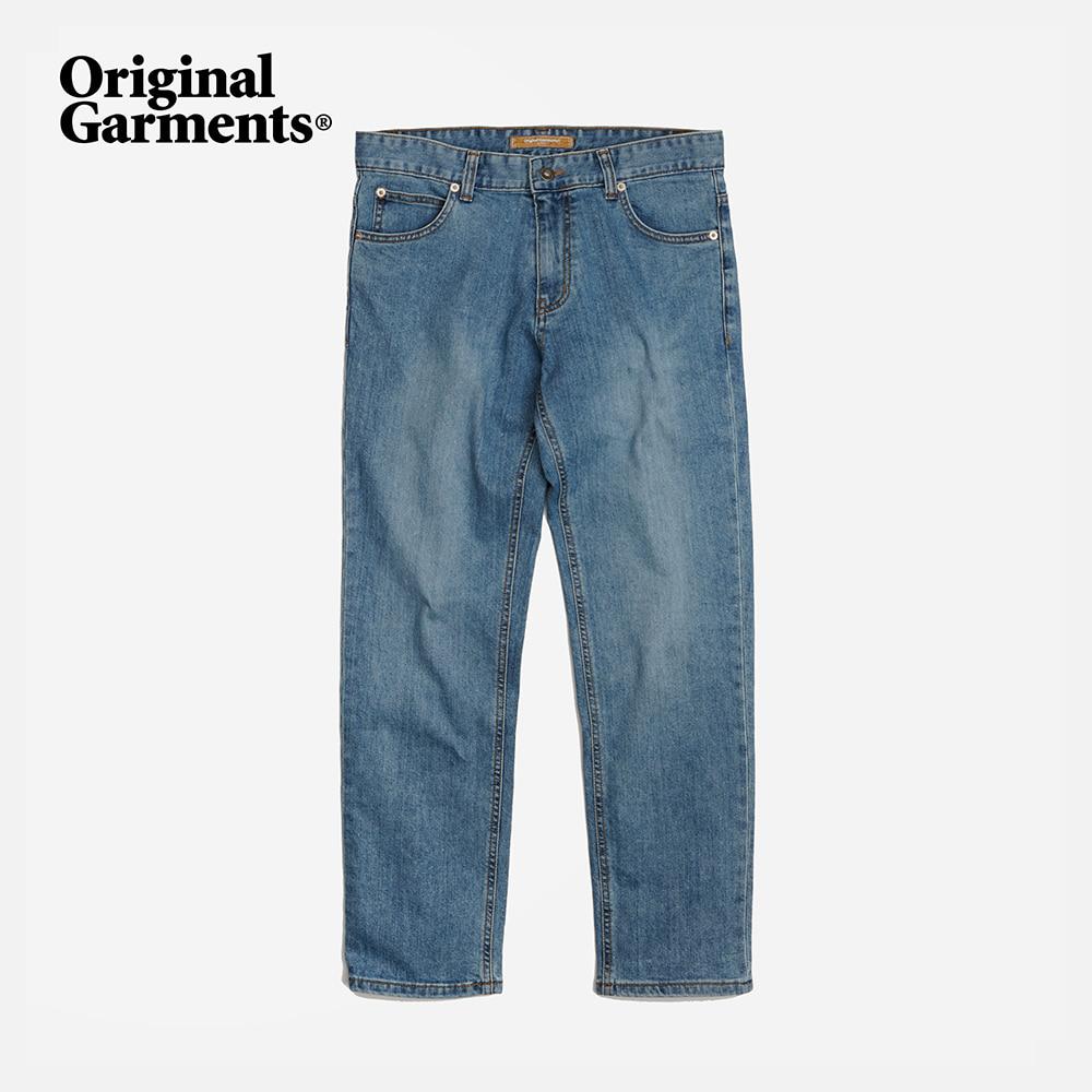 OG Slim crop denim pants _ light blue