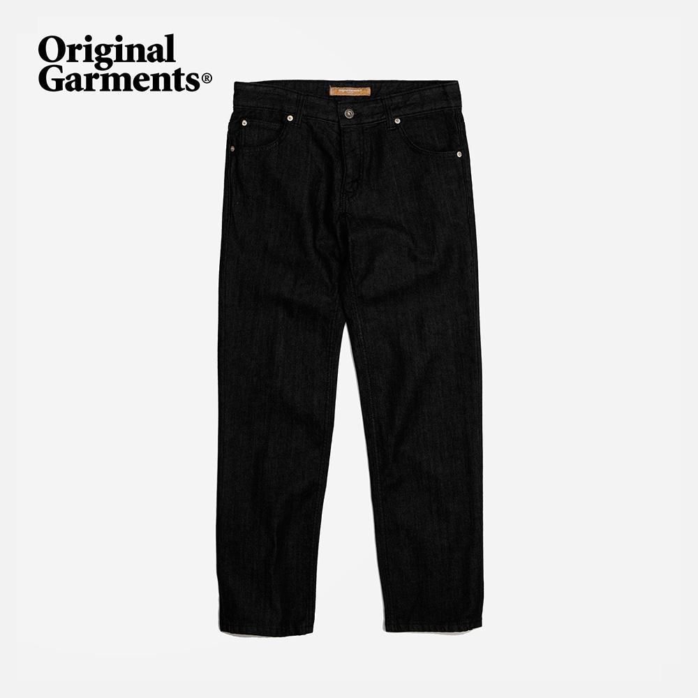 OG Slim crop denim pants _ black