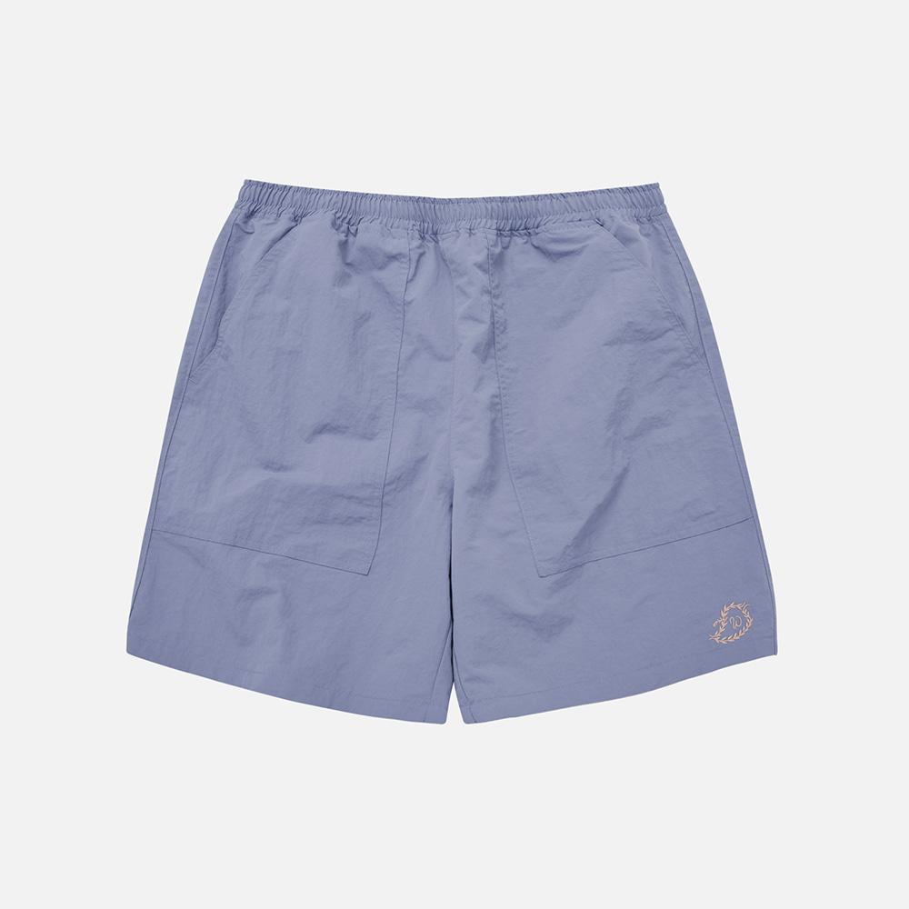 Nylon summer shorts _ blue
