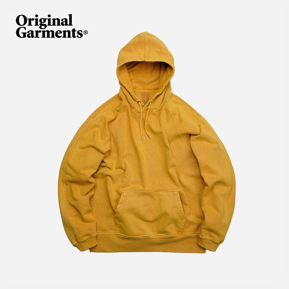 OG Pigment dyeing hoody _ mustard