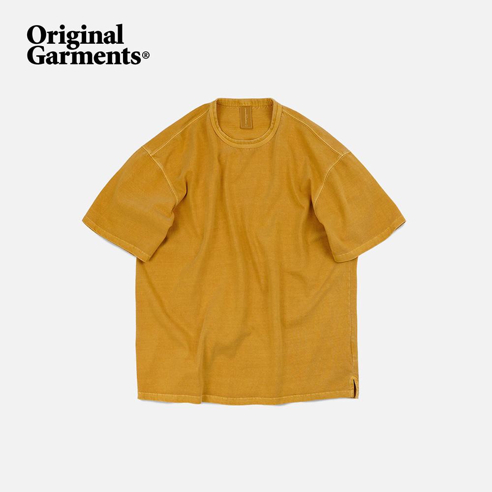 OG Pigment dyeing half tee _ mustard