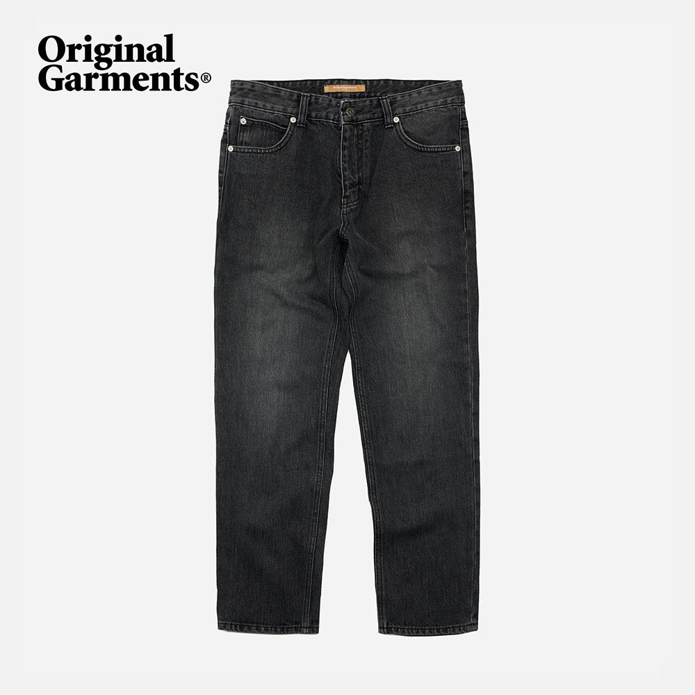OG Slim crop denim pants _ washed black