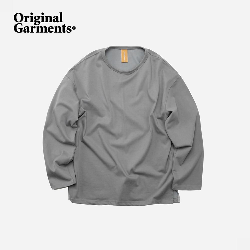 OG Durable long sleeve tee _ matt gray