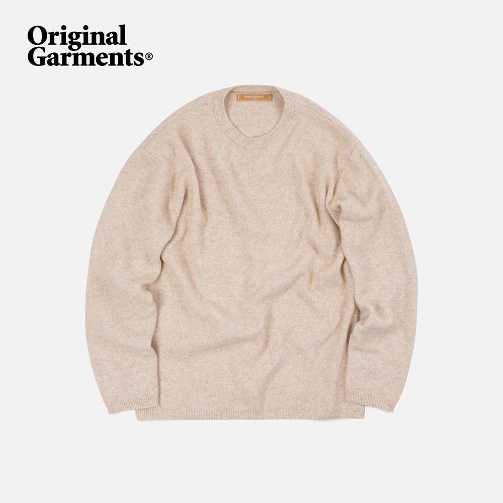 OG Cashmere knit _ oatmeal