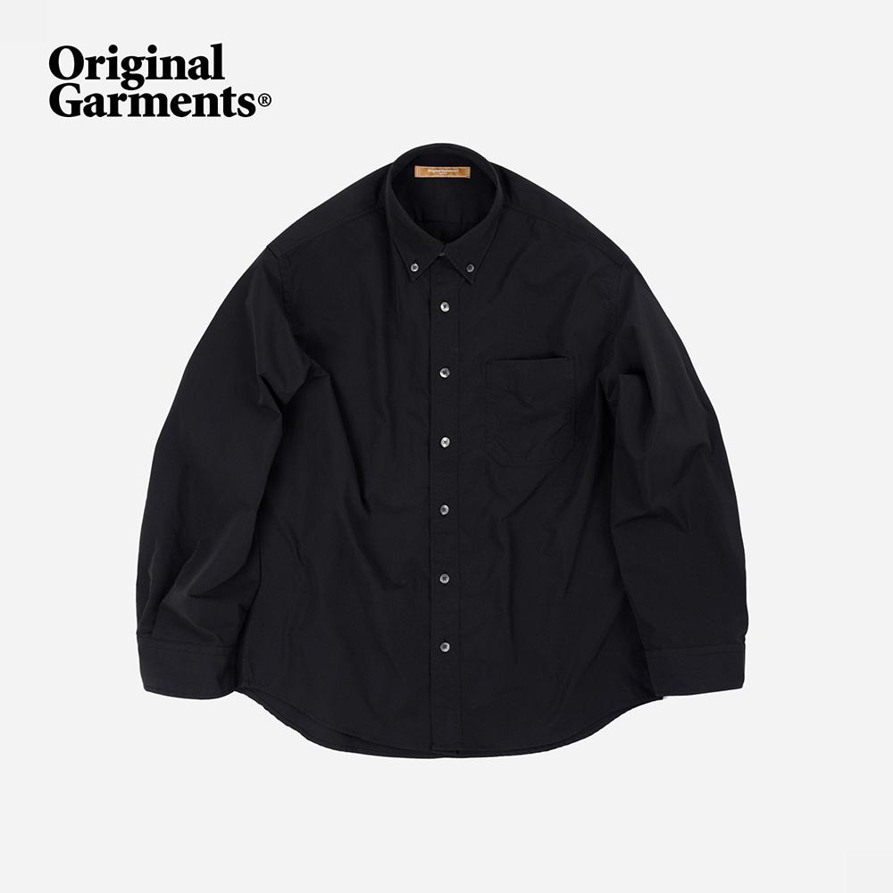 OG Crispy oversized shirt _ black