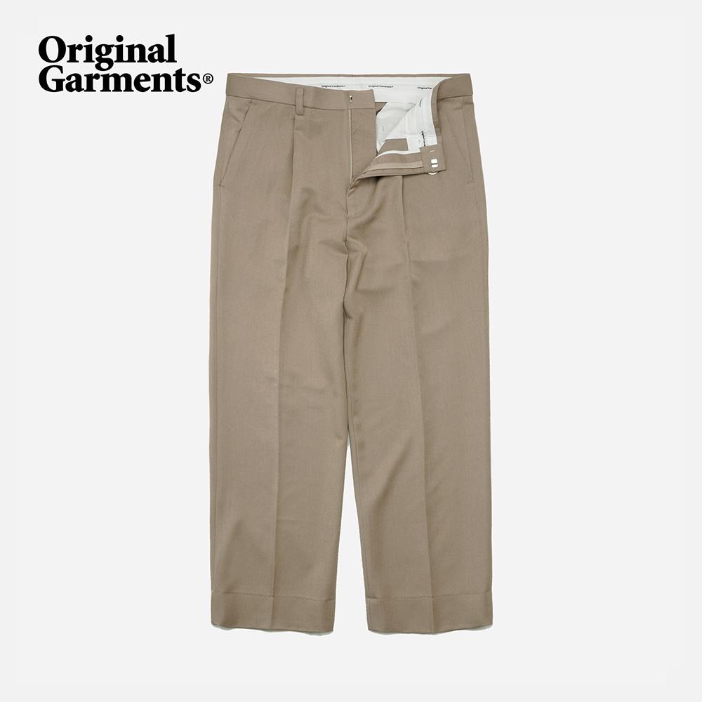 OG Wide slacks _ beige