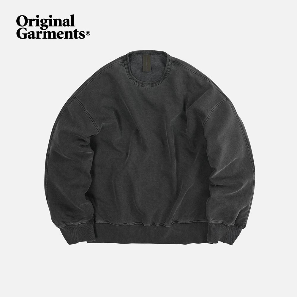 OG Pigment dyeing sweatshirt 002 _ charcoal