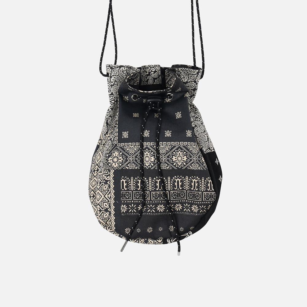 Bokjori string bag _ bandana black
