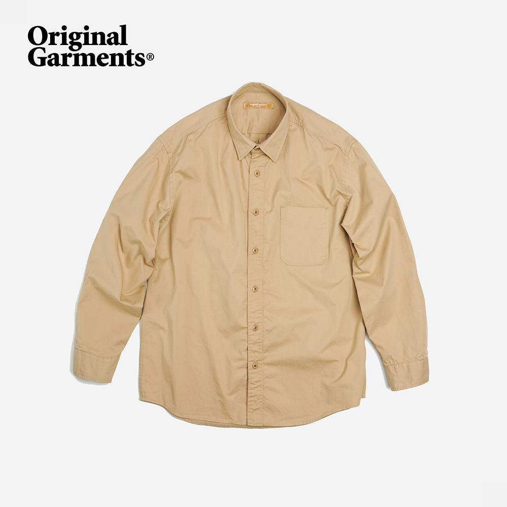 OG Hyperdensity cotton shirt _ beige