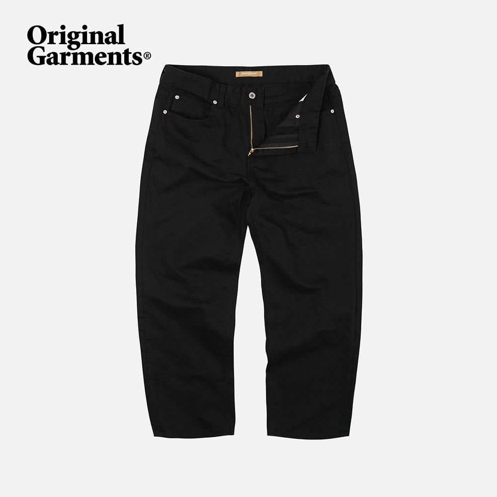 OG Wide cotton pants _ black