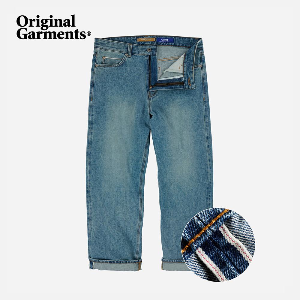 OG Selvedge regular denim pants _ light blue