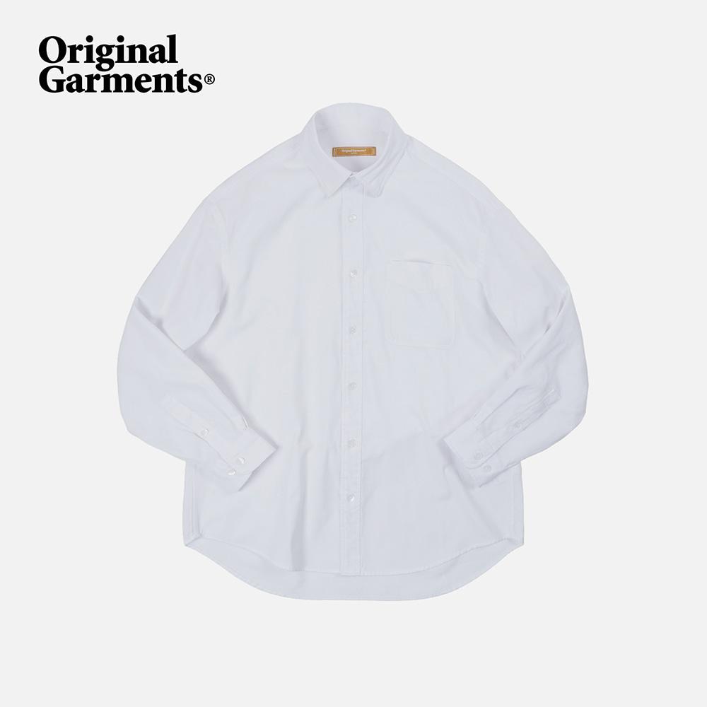 OG Oxford oversized shirt _ white