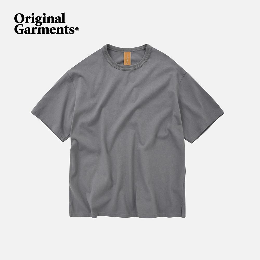 OG Double rib oversized tee _ matt gray