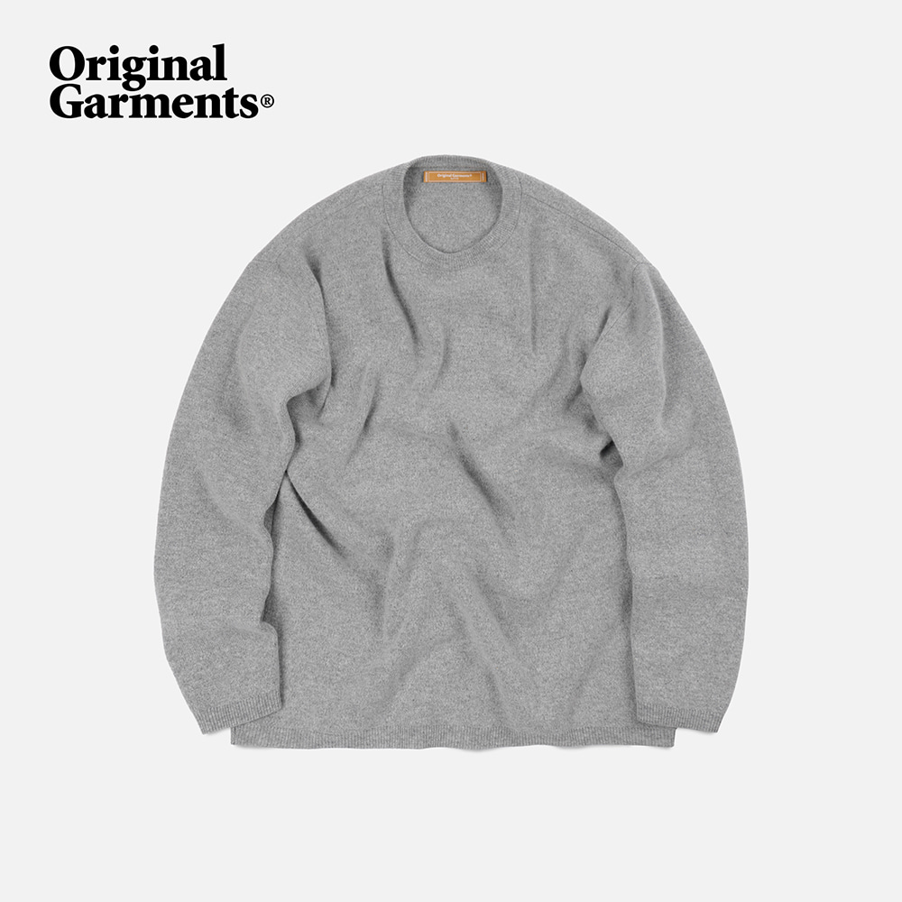 OG Cashmere knit _ light gray