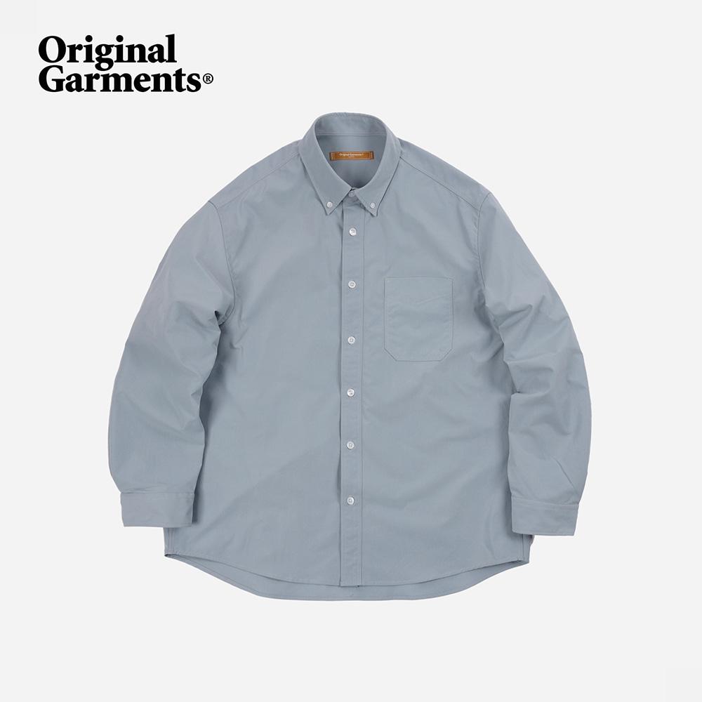 OG Crispy oversized shirt _ fog gray
