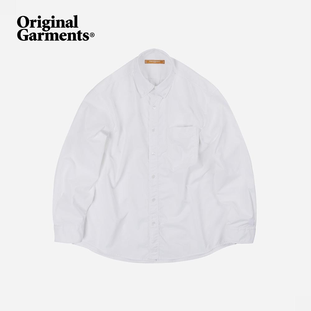 OG Crispy oversized shirt _ white