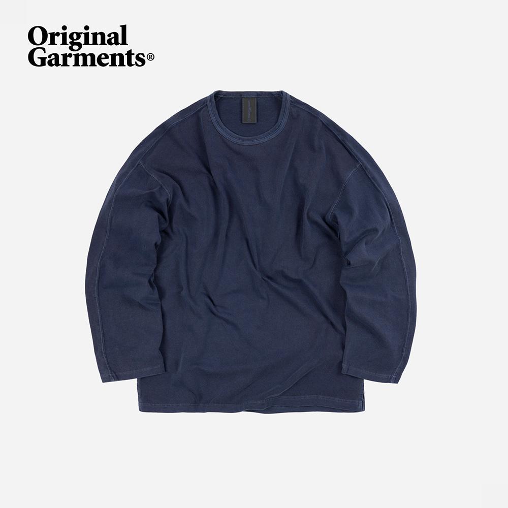 OG Pigment dyeing long sleeve _ blue