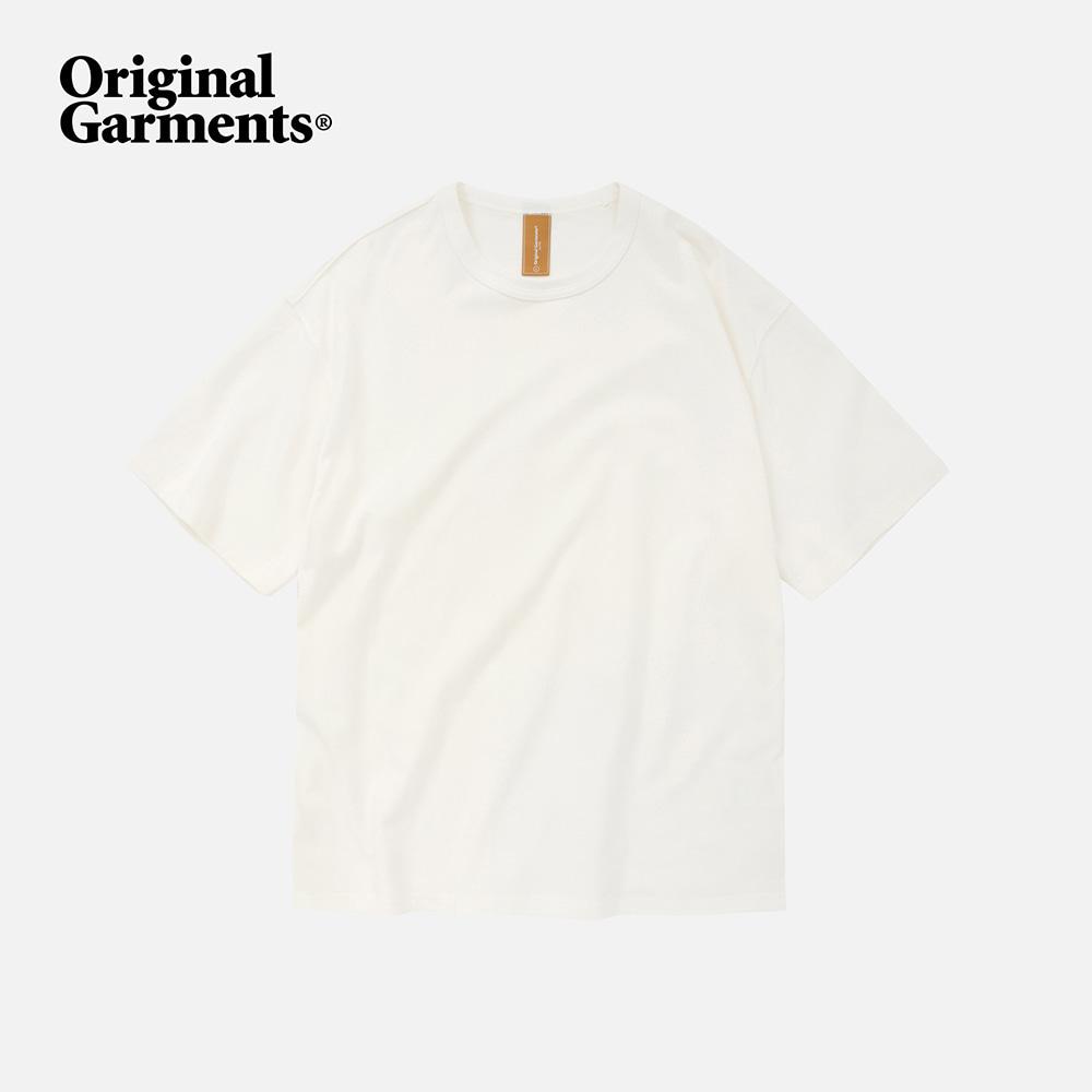 OG Double rib oversized tee _ white