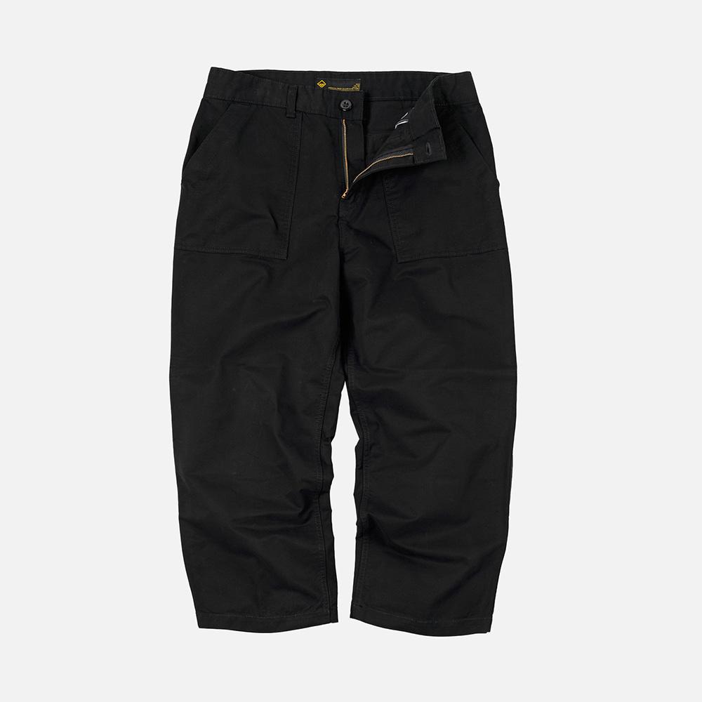 Rocky wide fatigue pants _ black