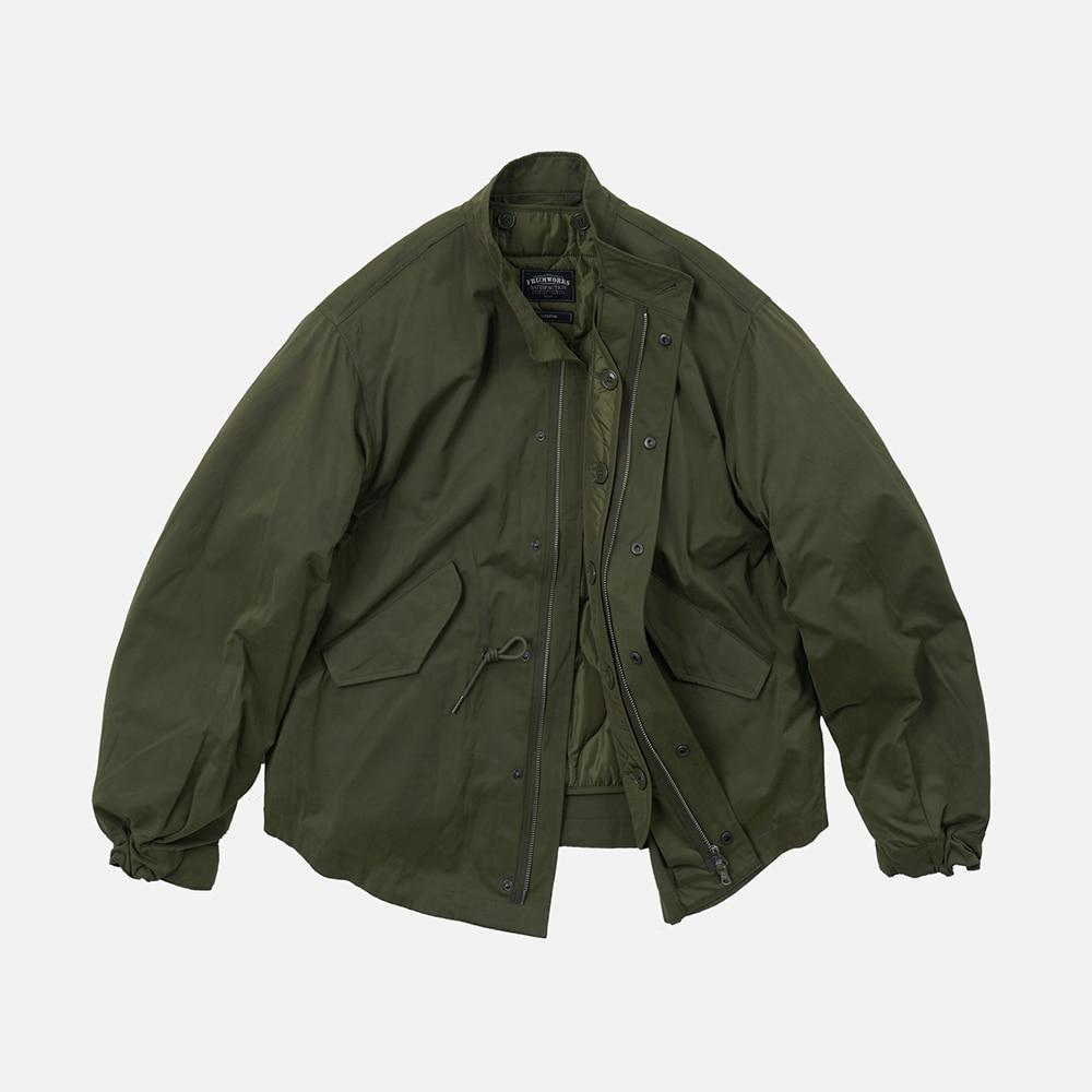 Oscar fishtail jacket 002 _ olive