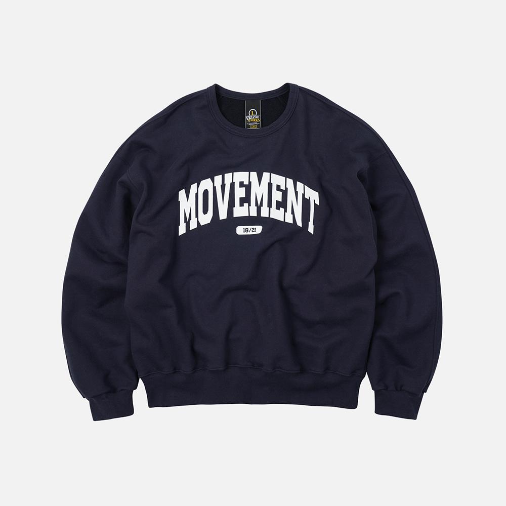 Movement logo sweatshirt _ navy