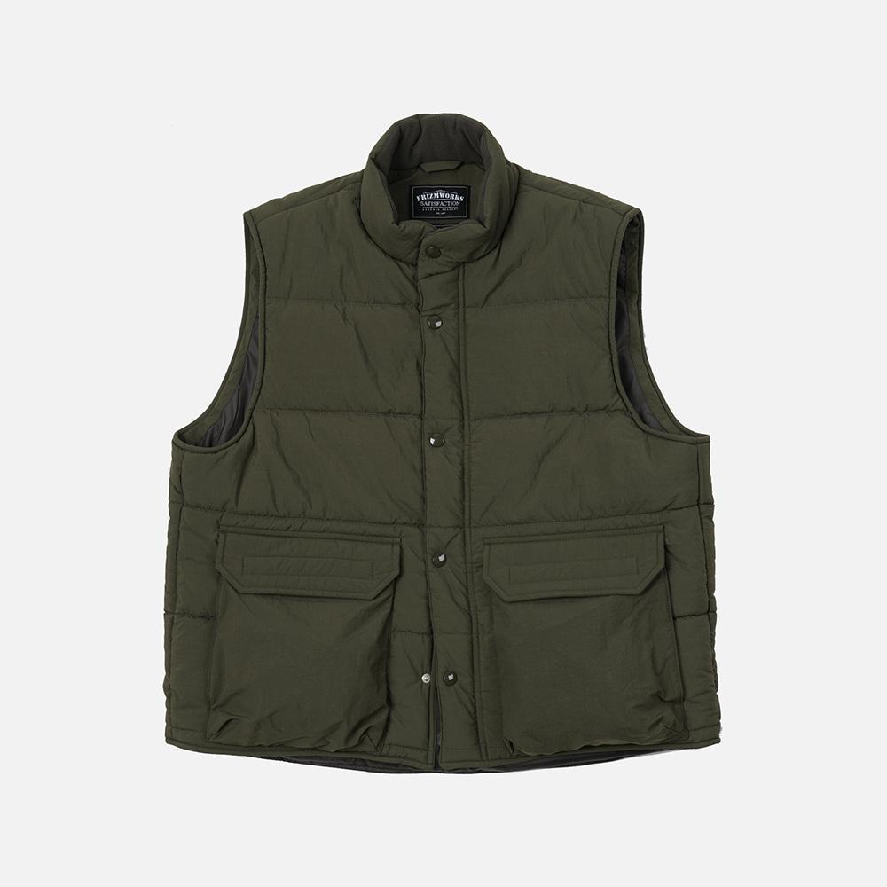 Mountain padding vest _ olive