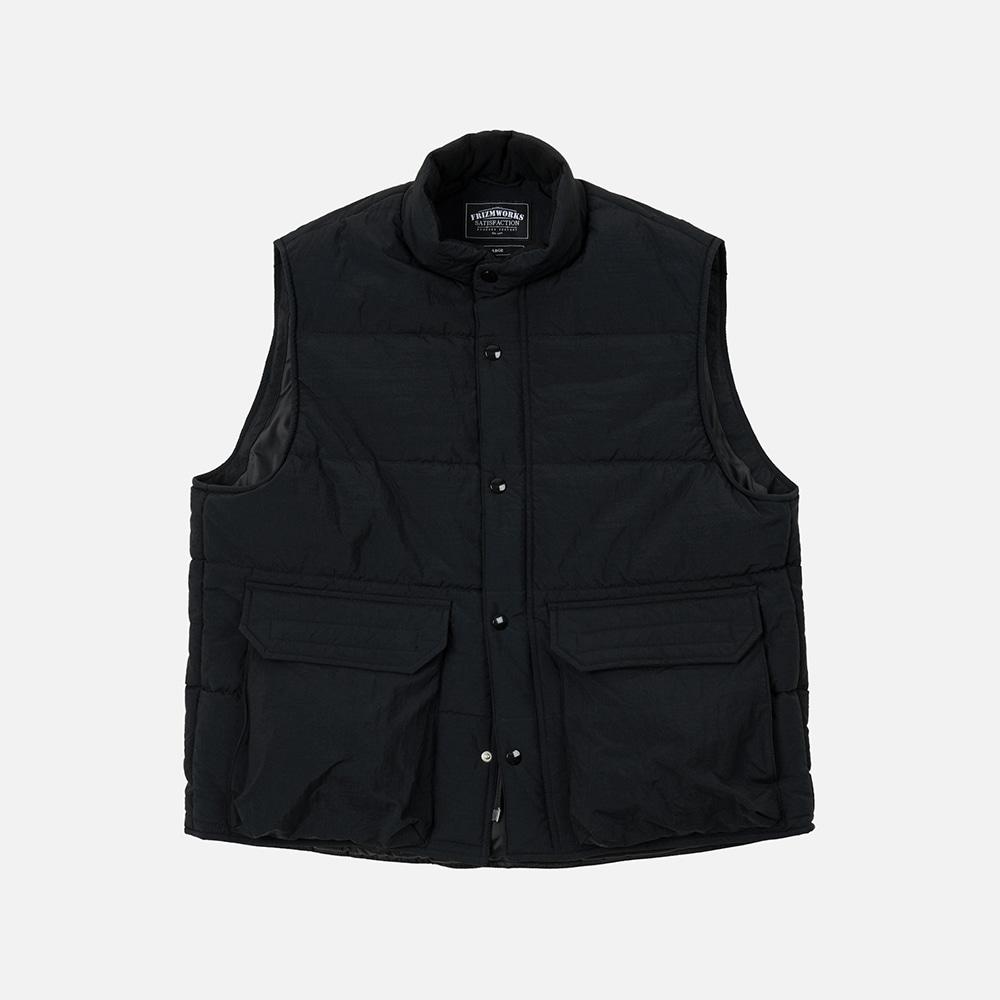 Mountain padding vest _ black