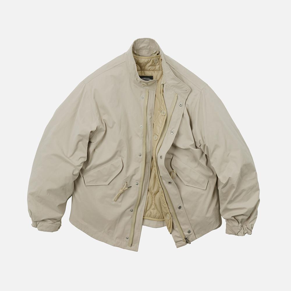 Oscar fishtail jacket 002 _ ivory