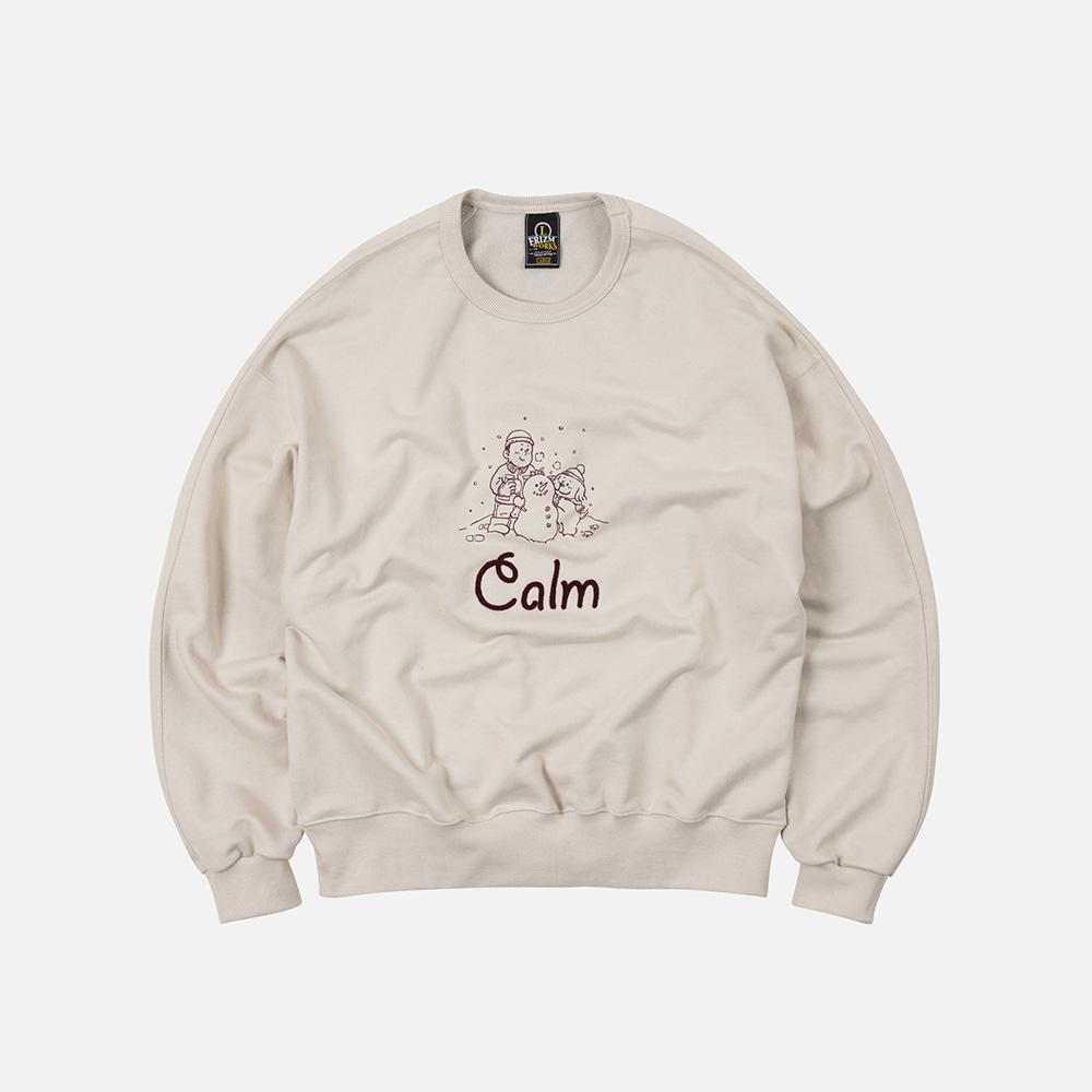 Calm winter sweatshirt _ light beige