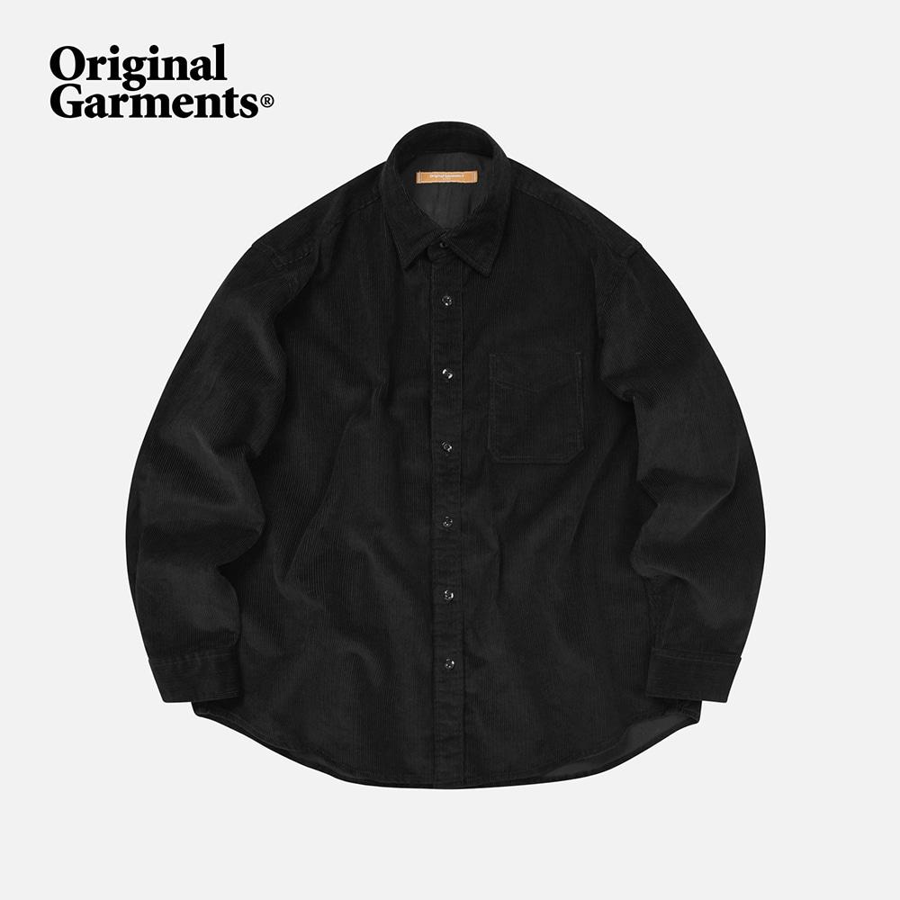 OG Corduroy shirt _ black
