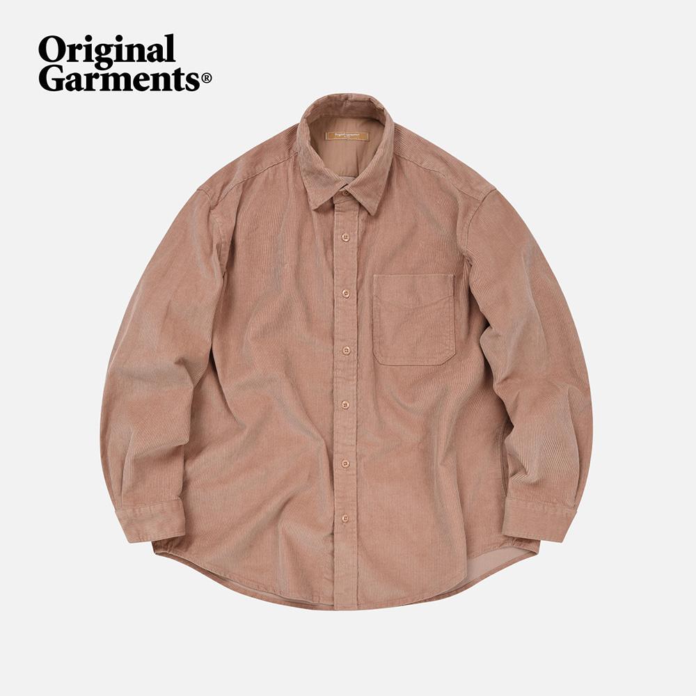 OG Corduroy shirt _ pink