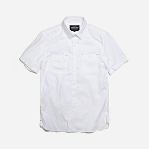 Round half shirt _ white